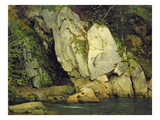 The Needle's Eye, 1839-40 (Oil on Cardboard) Giclee Print by Ludwig Adrian Richter