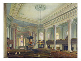 St. Paul's, Deptford (W/C on Paper) Giclee Print by George The Elder Scharf