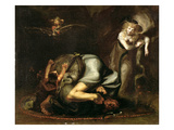 Scene of Witches from &#39;The Masque of Queens&#39; by Benjamin Jonson (1572-1637) C.1785 (Oil on Canvas) Giclee Print by Henry Fuseli