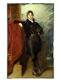 Lord Granville Leveson-Gower, Later 1st Earl Granville, c.1804-6 Giclée-tryk af Thomas Lawrence