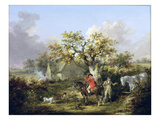 Partridge Shooting Giclee Print by George Morland