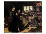 The Menshikov Family in Beriozovo, 1883 Giclee Print by Vasilii Ivanovich Surikov