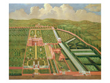 Denham Place, Buckinghamshire, C.1695 (Oil on Canvas) Giclee Print by  English