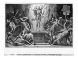 Life of Christ, Resurrection of Christ, Preparatory Study of Tapestry Cartoon Giclee Print by Henri Lerambert