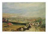 Leeds (W/C on Wove Paper) Giclee Print by J. M. W. Turner