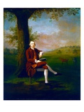 Portrait Possibly of John Trevor, 3rd Baron Trevor of St. Anne's Hill, Surrey and Trevalyn Hall Giclee Print by Arthur Devis