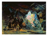 Stage Design for the Opera 'siegfried' by R. Wagner, 1918 Giclee Print by Konstantin A. Korovin