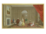The John Bacon Family, C.1742-43 (Oil on Canvas) Giclee Print by Arthur Devis