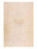 W.54 Study of a Dragon Giclee Print by  Michelangelo Buonarroti
