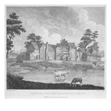 View of the Pest-Houses at Tothill Fields Engraved by Charles Pye, 1796 (Engraving) Giclee Print by Edward Dayes
