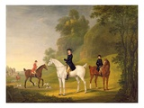 Lord Bulkeley and His Harriers, His Huntsman John Wells and Whipper-In R. Jennings, 1773 Giclee Print by Francis Sartorius