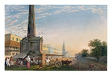 View of Writers Buildings from the Monument at the West End' Giclee Print by James Baillie Fraser