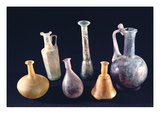 Six Vases, from Aquileia (Glass) Giclee Print by  Roman