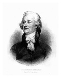 Alexander Hamilton, Engraved by Albert Rosenthal, 1888 (Engraving) Giclee Print by John Trumbull