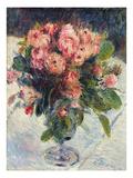 Moss-Roses, c.1890 Giclee Print by Pierre-Auguste Renoir