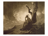 The Indian Widow, 1789 (Mezzotint) Giclee Print by Joseph Wright Of Derby