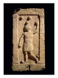 Relief Depicting a Juggler from the Stela of Settimia Spica (Stone) Giclee Print by  Roman