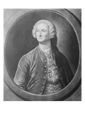 The Honble James Annesley Esq, Engraved by John Brooks, C.1746-56 (Mezzotint) Giclee Print by Justin Stevens
