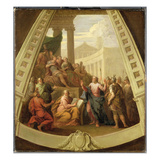 St. Paul before Agrippa, C.1710 (Oil on Canvas) Giclee Print by Sir James Thornhill