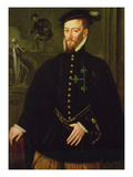 Marquis of Las Navas, c.1559 Giclee Print by Sir Anthonis van Dashorst Mor