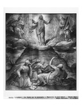 Life of Christ, Transfiguration of Christ on Mount Tabor, Preparatory Study Giclee Print by Henri Lerambert