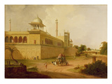 Jami Masjid, Delhi, 1811 (Oil on Canvas) Giclee Print by Thomas Daniell