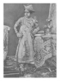 Maharaja Madho Rao Scindia of Gwalior (Engraving) Giclee Print by  English Photographer