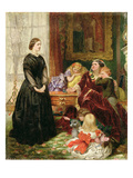 The Governess, 1860 Giclee Print by Emily Mary Osborn