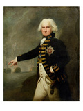Admiral Lord Bridport (1727-1814) C.1795 (Oil on Canvas) Giclee Print by Lemuel Francis Abbott