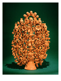 Tree of Life (Single-Fired Earthenware) Reproduction procédé giclée par  Mexican