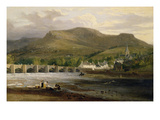 Crickhowell, Breconshire, c.1800 Giclee Print by  English