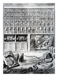 Table V from 'Elenchus Tabularum' by Levinus Vincent, Published 1719 (Engraving) Giclee Print by  Dutch