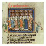 Roy 20 a Xvii F.9 Figures Dancing to Music Played on Tabor and Bagpipes Giclee Print