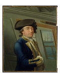 Portrait of Captain William Locker (1731-1800) 1769 Giclee Print by Dominic Serres