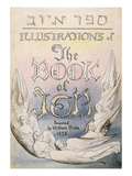Title Page from 'Illustrations of the Book of Job', Pl.1, after William Blake (1757-1827) Giclee Print by James Thomas Linnell
