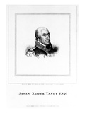 James Napper Tandy, Engraved by James Heath, 1815 (Engraving) Giclee Print by James Petrie