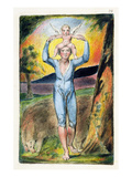 Frontispiece from 'Songs of Innocence and of Experience' (Bentley Copy L) Pl.29 (Bentley28) 1789-94 Premium Giclee Print by William Blake