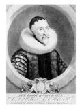 Sir John Coke, 1724 (Mezzotint) Giclee Print by George White