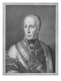 Francis Ii, Holy Roman Emperor, Engraved by Giuseppe Longhi (Engraving) Giclee Print by Natale Schiavoni