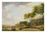 The Medway at Rochester, 1776 (Oil on Canvas) Giclee Print by Francis Wheatley