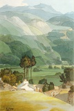Ambleside, 1786 (W/C with Pen and Ink over Graphite on Laid Paper) Giclee Print by Francis Towne