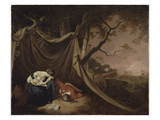 The Dead Soldier, c.1789 Giclee Print by Joseph Wright Of Derby