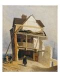 Ruined House, C.1807-10 (Oil on Millboard Mounted on Panel) Giclee Print by John Sell Cotman
