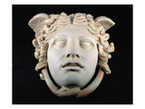 Rondanini Medusa, Copy of a 5th Century BC Greek Marble Original, Roman (Plaster) Giclee Print