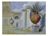 Villa Massimi, Rome (W/C and Bodycolour on Paper) Giclee Print by Harry John Johnson