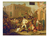 Scene in a London Street, 1770 Giclee Print by John Collet