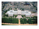 Aerial View of the National Gallery of Art West Building, Completed in 1941 (Photo) Giclee Print by John Russell Pope