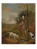 Major John Dade (1726-1811) of Tannington, Suffolk, c.1755 Giclee Print by Thomas Gainsborough