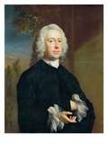 An Unknown Man in Black, 1735 Giclee Print by Joseph Highmore
