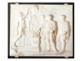 Sacrifice to Hercules, C.1766 (Marble) Giclee Print by Gaspar Vanderhagen
